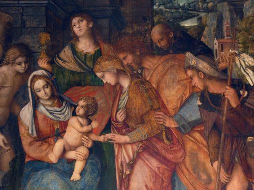 Sposalizio Mistico di Santa Caterina