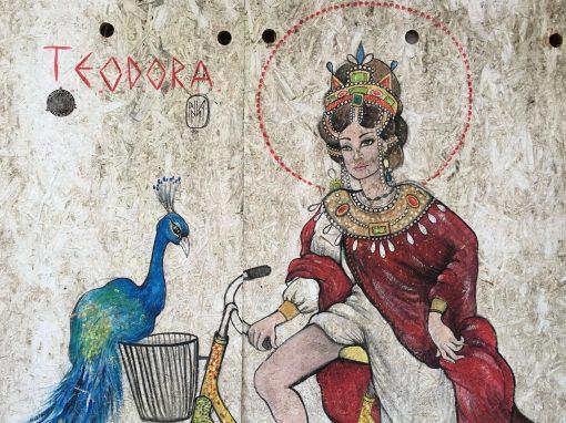 Anna Agata, l'imperatrice Teodora