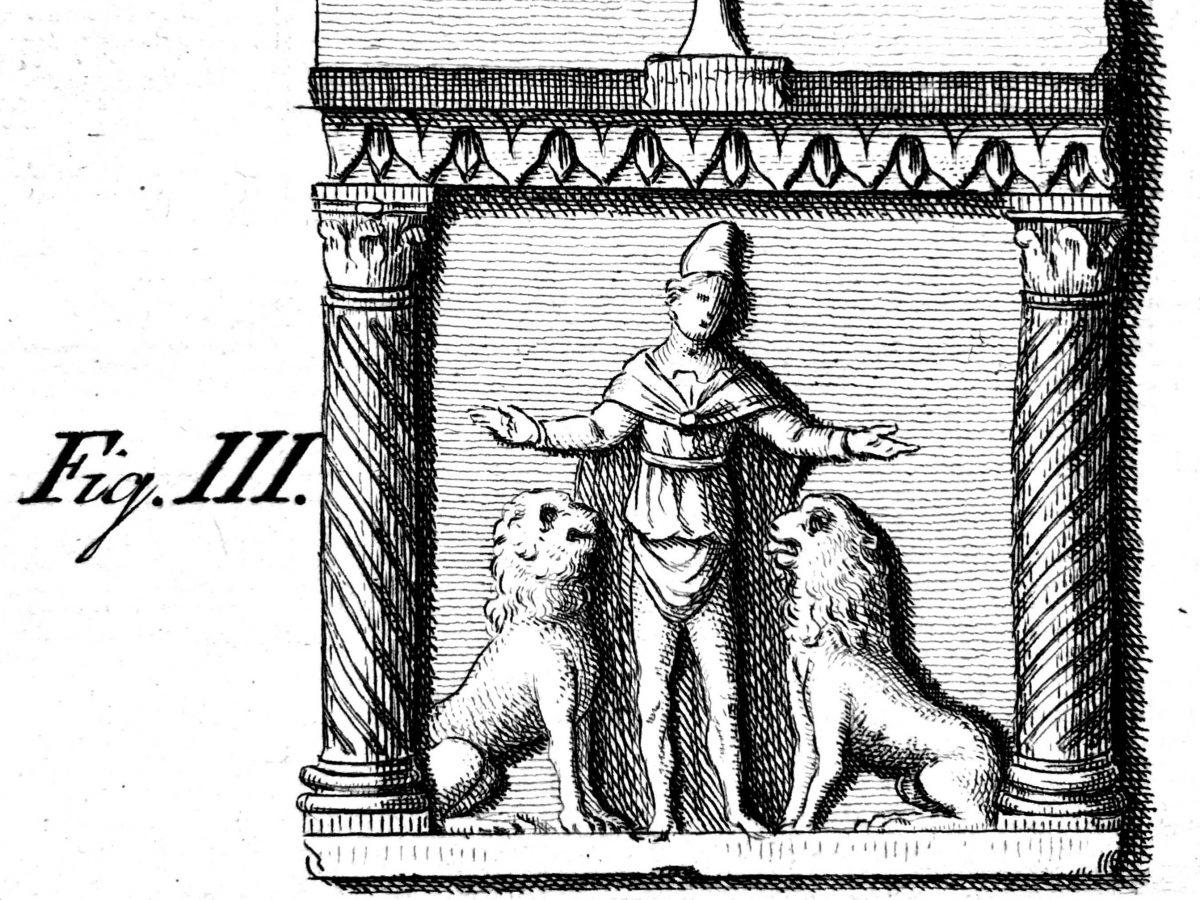 Il sarcofago di Isacio