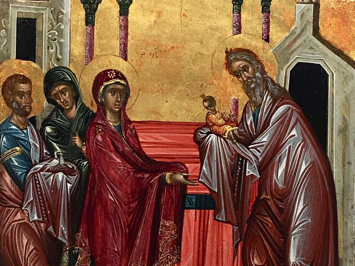 Icona della Presentazione al Tempio, Museo Nazionale di Ravenna