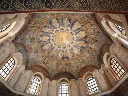 Cupola del battistero Neoniano, ph Andrea Bernabini